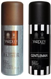Yardley Arthur and Gentleman Deo (Set of 2)