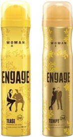 Engage Tease, Tempt Deo Combo (Set of 2)