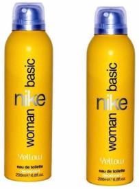 Nike Basic Yellow Deo Gift Set (Set of 2)