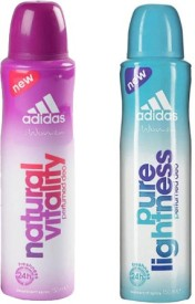 Adidas Natural Vitality and Pure Lightness..