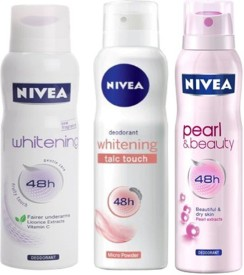 Nivea Whitening Talc Touch, Pearl and Beauty,..