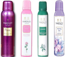 Yardley Poise, English Rose, Jasmine and..