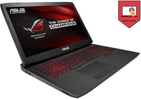 Asus G751JL-T3024P Laptop (Core i7/24GB/1TB/Win 8.1/2GB Graphics) (17.3 inch)