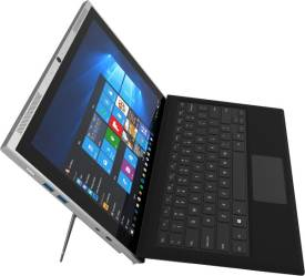 Smartron tbook 2 in 1 Laptop (Intel Core M- 4GB RAM- 128GB SSD- 31.24cm (12.3)- Windows 10) (Orange & Gray)