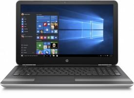HP Pavilion 15-AU006TX Notebook (W6T19PA) (6th Gen Intel Core i5- 8GB RAM- 1TB HDD- 39.62cm(15.6)- Windows 10- 4GB Graphics) (Silver)