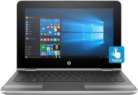 HP Pavilion x360 11-u005tu Notebook (6th Gen Intel Core i3- 4GB RAM- 29.46cm(11.6)- Windows 10) (Silver)