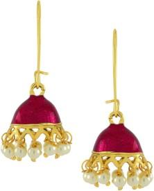 Naveli Jhumki Alloy Jhumki Earring