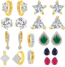 Jewels Galaxy Trendy Alloy Earring Set