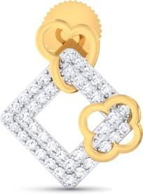 Ornomart elegant glint Diamond Metal Stud Earring
