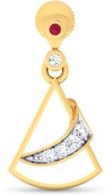 Ornomart studded cone Diamond Metal Drop Earring