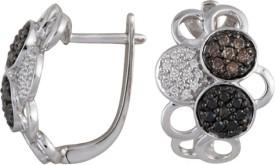 Gold24.in New Diamond Metal Hoop Earring
