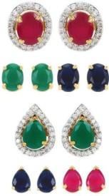 Jewels Galaxy RFFDV-16388 Alloy Earring Set