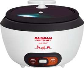 Maharaja Whiteline Cool Touch (RC-103) Electric Rice cooker