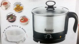 Warmex MP999 1.2 Litre Electric Kettle