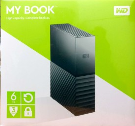 WD My Book (WDBBGB0060HBK) 6TB External Hard Drive