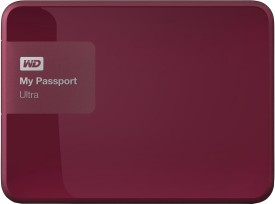 WD My Passport Ultra (WDBBKD0040BBK) 4TB External Hard Drive