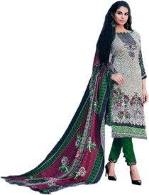 Aaradhya Creations Pashmina Printed Suit Fabric(Un-stitched)