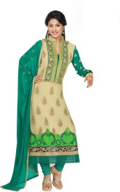 Styles Closet Georgette Embroidered Suit Fabric