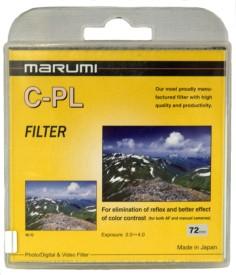 Marumi 72 mm Circular Polarizer Filter