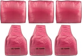 Annapurna Sales Maroon Pairasute Large Saree and Blouse Cover - Set of 6 Pcs. Pouch