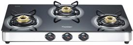 Prestige Royale Plus SS Gas Cooktop (3 Burner)