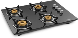 Sunflame Hobtop Counter CT4AI 4 Burner Auto Ignition Gas Cooktop