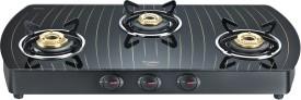 Prestige GTS 03 L (D) Gold 3 Burner Glass Gas Cooktop