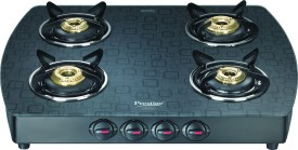Prestige Premia 40271 Glass Manual Gas Cooktop (4 Burner)