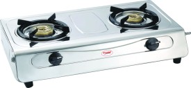 Agni Deluxe SS 2 Burner Gas Cooktop