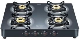 Prestige Royale Plus Aluminum Gas Cooktop (4 Burner)
