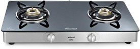 Sunflame Crystal 2B SS Burner Gas Cooktop