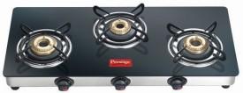 Prestige GTM03 Glass Manual Gas Stove (3 Burner)
