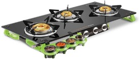 Vidiem Air Spice Manual Gas Cooktop (3 Burner)