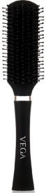 Vega Premium Collection Flat Brush (Black)
