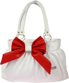 JG Shoppe Hand-held Bag(White)