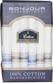 Bonjour Men's Cotton Handkerchief