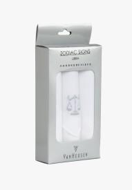 """Van Heusen """"LIBRA"""" Zodiac Sign Cotton Handkerchief(Pack of 3)"""