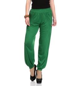 Legis Solid Lycra Women's Harem Pants
