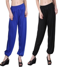 Kannan Solid Cotton Women's Harem Pants