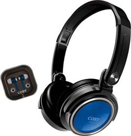 Coby CVH-800 2-in-1 Jammerz Xtra Headphones..