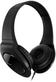 Pioneer SE-MJ721-K Fully Enclosed Dynamic Headphones