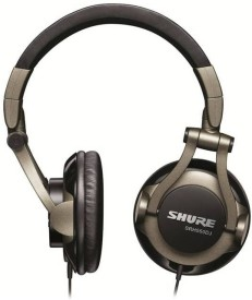 Shure SRH550DJ Over the Ear Headphones