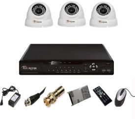 Tentronix-T-4AVR-3-D13-4Channel-AHD-DVR-3-(1-MP-36-IR)-Dome-Cameras