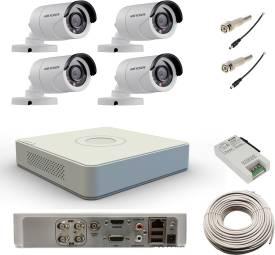 Hikvision-DS-7104HWI-SH-4Channel-DVR-+-4-Bullet-CCTV-Camera