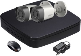 Dahua DH-HCVR4104C-S2 4-Channel Dvr ,2(DH-HACHFW1000-RP2) Bullet Cameras
