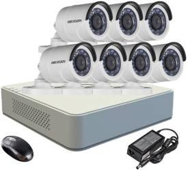 Hikvision-DS-7108HGHI-E1-8CH-Dvr-,-7(DS-2CE16C2T-IR)-Cameras