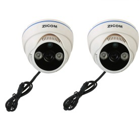 zicom Z.CC.ZA.DIY.2001.CCTVKIT 4-Channel Dvr (With 2 Dome Cameras)