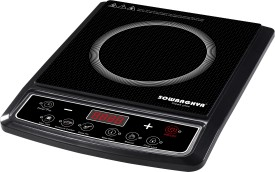 SOWBAGHYA Sleek Plus 2000W Induction Cooktop (With Pot)