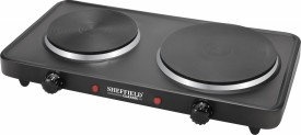 Sheffield Classic SH-2002 2500W Double Plate Induction Cooktop