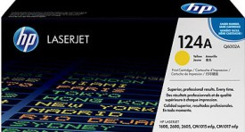HP 124A Yellow LaserJet Toner Cartridge